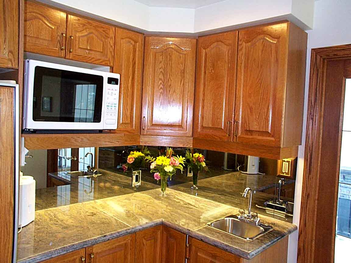 Kitchen Counter Close Up interiors